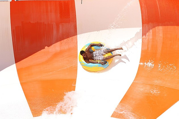 Tangerine Tempest/Photo courtesy of Lost Island Waterpark
